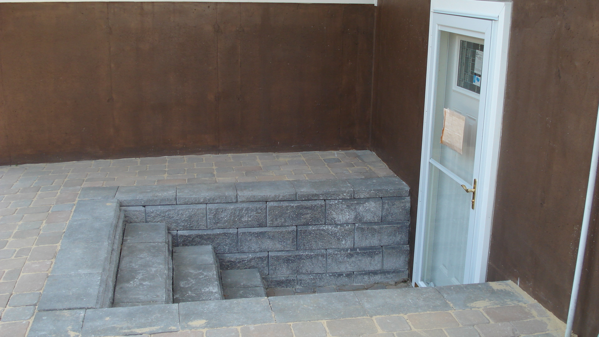 Securing Your Walkout Basement Entry Stone And Patio