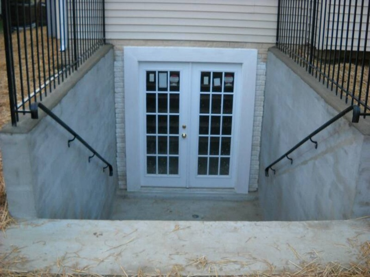walkout basement doors are generally installed in houses with the